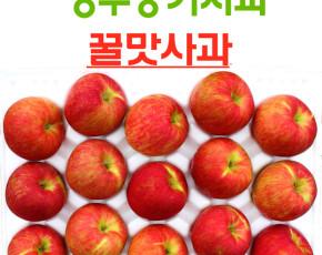 영주풍기사과 꿀맛사과 대용량 10kg 28~32과 가정용 흠집사과