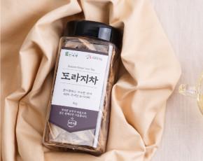 [흙사랑영농조합법인]도라지차 80g(PET용기) 국내산 100%