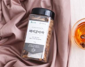 [흙사랑영농조합법인]돼지감자차 100g(PET용기) 국내산 100%