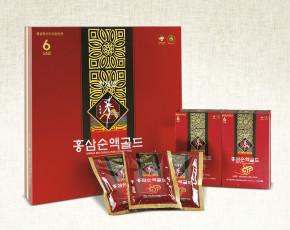 [풍기특산물영농조합법인] 천제명홍삼 홍삼순액골드 30포