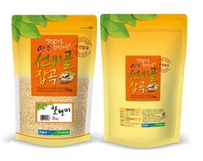 [안정농협] [영주선비골잡곡2019년산] 찰현미 3kg/5kg