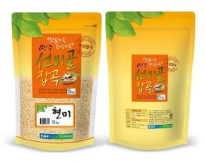 [안정농협] [영주선비골잡곡2019년산] 현미 3kg