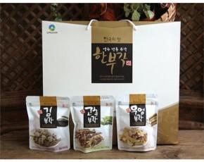 [소백산아래] 좋은 재료로 만든 영주전통부각[한부각 선물세트6종]