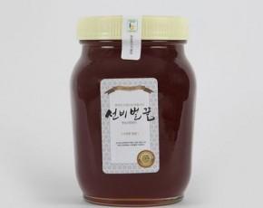 [선비벌꿀 영농조합] 야생화꿀 [100%국내산] 2.4kg