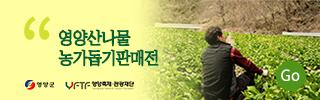 영양산나물농가돕기판매전