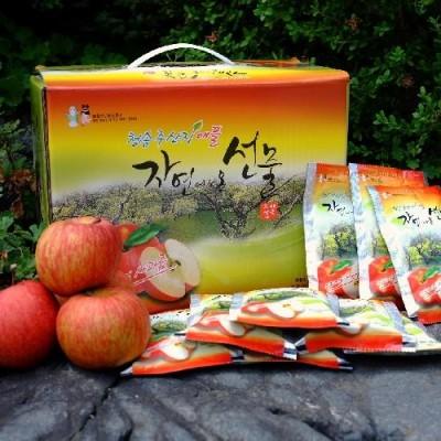 [주산지애플] 청송 주왕산 사과즙 3박스세트(150포)