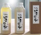 [김천 배금도가]  전통 수제 찹쌀막걸리 1000ml  (무감미료 -12도 수제막걸리)