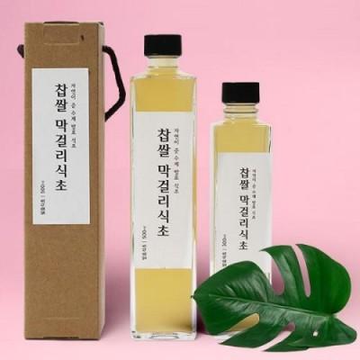 [배금도가] 자연발효 찹쌀 막걸리식초 300ml, 500ml