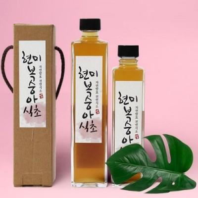 [배금도가] 자연발효 현미 복숭아식초 300ml, 500ml