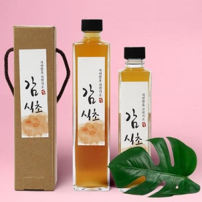 [배금도가] 자연발효 감식초 300ml, 500ml