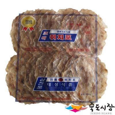 [죽도시장] 삼천포쥐포 / 삼천포 쥐포, 정품 250g (국내가공)
