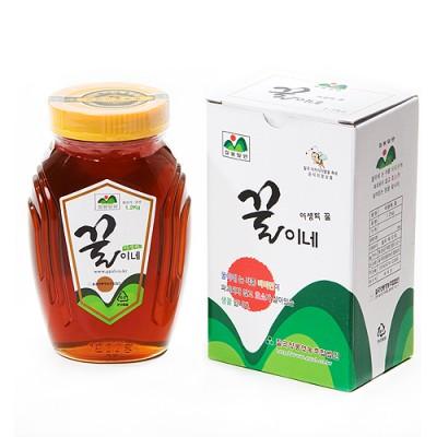 [칠곡양봉영농조합법인] 야생화꿀 1.2kg(1+등급검사꿀)