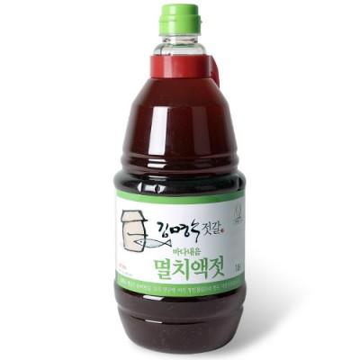 [천연식품] [김명수젓갈] 김명수멸치액젓(바다내음) 1.8ℓ