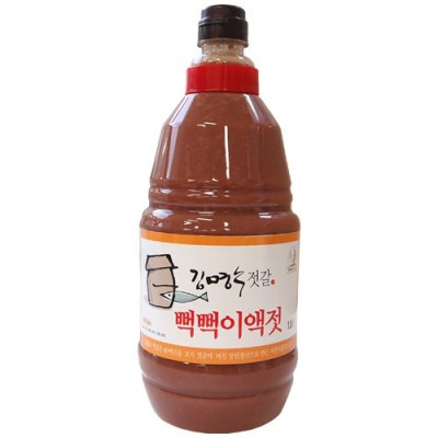 [천연식품] [김명수젓갈] 김명수뻑뻑이액젓 1.8ℓ