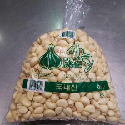 [농업회사법인(주)참좋은농산] [국내산]깐마늘 5Kg_[크기 대]