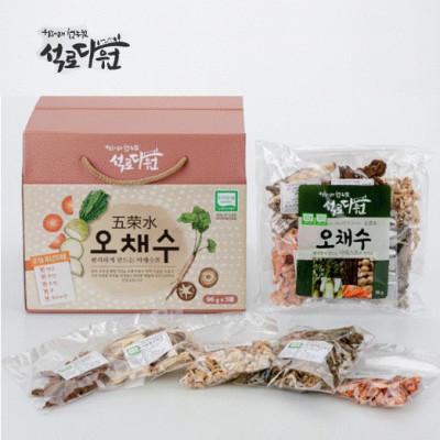 [석로다원] [무료배송] 친환경 오채수 (야채스프) 96g x 5EA