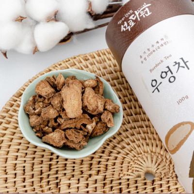 [석로다원] [무료배송] 무농약 우엉차 100g