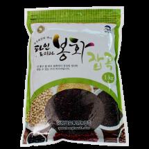[청량쌀유통영농조합법인] 찰흑미 1kg