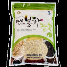 [청량쌀유통영농조합법인] 찰보리쌀 1kg