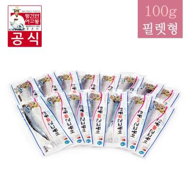 [이동삼 안동간고등어] 순살 반마리 100g (15팩)