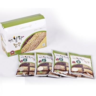 [봉화잡곡(봉양작목반)] [건강밥상] 국내산/혼합잡곡 2kg (찹쌀/수수/팥/기장 500g*4)