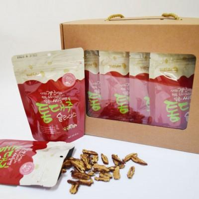 [이엘농업법인(주)][★선물용] 우리가족 웰빙간식/바삭바삭 달콤한 경산대추 100%로 만든 대추 슬라이스칩