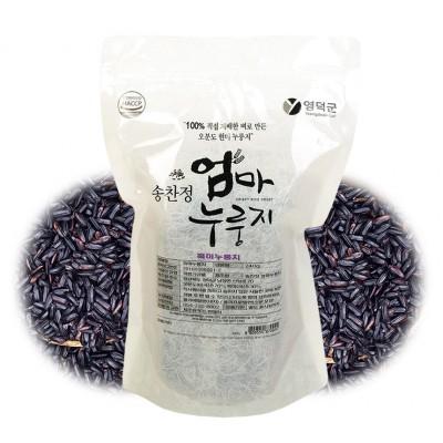 [송찬정엄마누룽지] 흑미누룽지 240g HACCP인증
