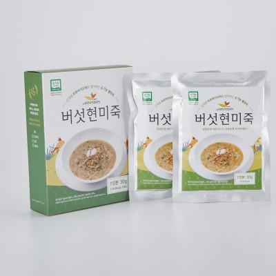 유기농 버섯현미죽 30g*3팩