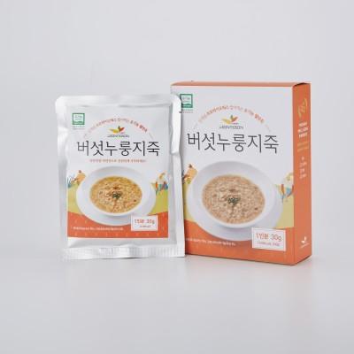 유기농 현미버섯누룽지죽 30g*3팩