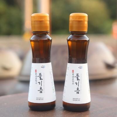 [회룡포 장수진품] 장수들기름 160ml 3병