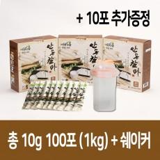 마다솜 안동참마 마가루 스틱형 3박스+10포(총1kg)+쉐이커 /안동마/