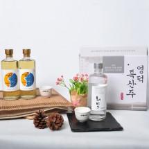 영덕주조 특산주 전통주선물세트(해방주1병,해파랑2병)