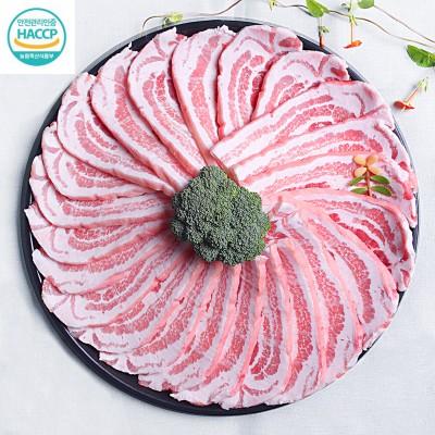 국내산 돼지고기 삼겹살 500g (급속냉동)