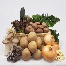 (예약주문)친환경 학교급식용 농산물 꾸러미(10종-6kg)