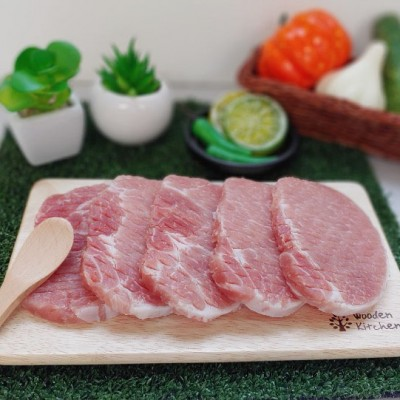 [거인황금팜] 국내산 돼지 냉동 등심 500g (1등급 이상)
