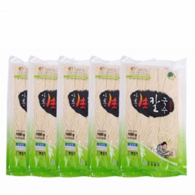 [건강밥상] 쫄깃쫄깃 안동 생칼국수 1kg 10봉