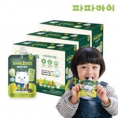 [파파아이] 국내산 어린이 배즙 파파주스 배수세미 3BOX