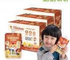 파파아이 국내산 어린이 배즙 파파주스 배도라지 3BOX