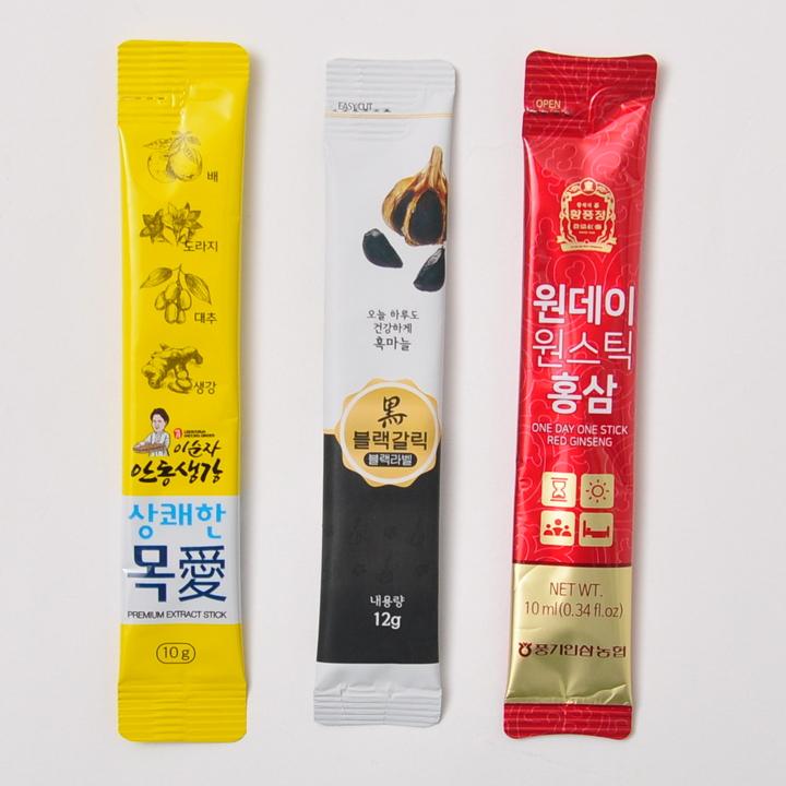 [풍기인삼농협]홍삼과 생강 그리고 흑마늘 사랑 기프트세트