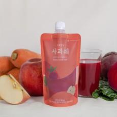 국산 사과, 당근, 비트로 만든 ABC주스 프롬안동 사과쉐 6개입