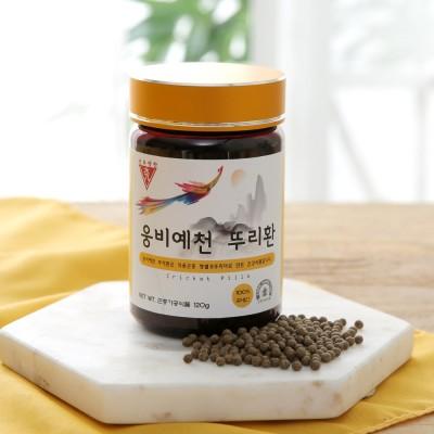 [선우약찬]백세건강을 위한 하루습관 웅비예천 뚜리환 120g