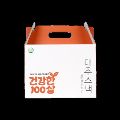 [참맛대추]건강한 100살 대추스낵 선물세트 50g 10개입