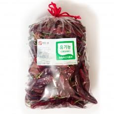 경북 영양 유기농 고추 600g(1근) 순한맛