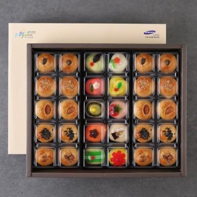 [대가야푸드]맛시루 화과자10구+만쥬20구(10+1) /선물세트 화과자만쥬모음전