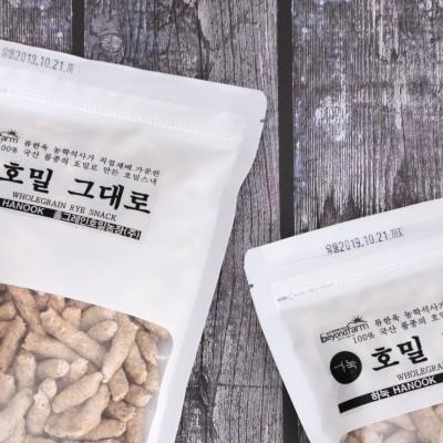 [홀그레인호밀농장] 호밀그대로 스낵