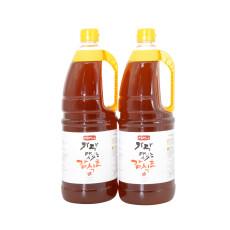 [상주아람곶감]지금먹을때 가장 맛있는 감식초 [천연발효식초] 1.8ℓ × 2병