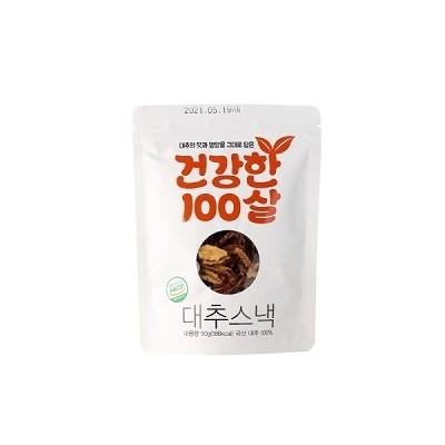 [참맛대추] 건강한 100살 대추스낵 50g