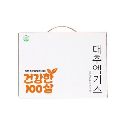 [참맛대추] 건강한 100살 대추엑기스 100ml 30포