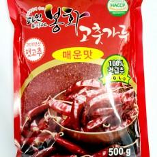 [봉화군조합공동사업] 파인토피아봉화고춧가루 골드 500g(매운맛)