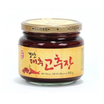 [뚝배기식품] 경산대추고추장 500g